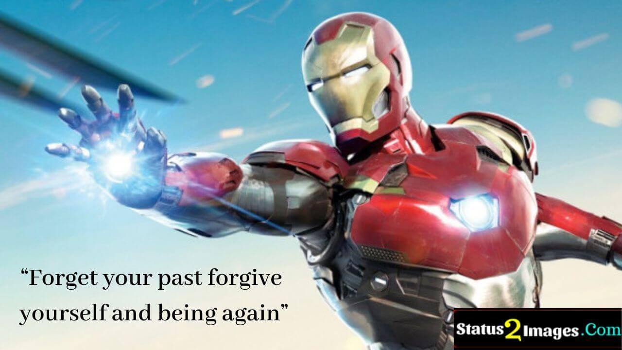 Forget your past forgive yourself and being again -Positive Quotes