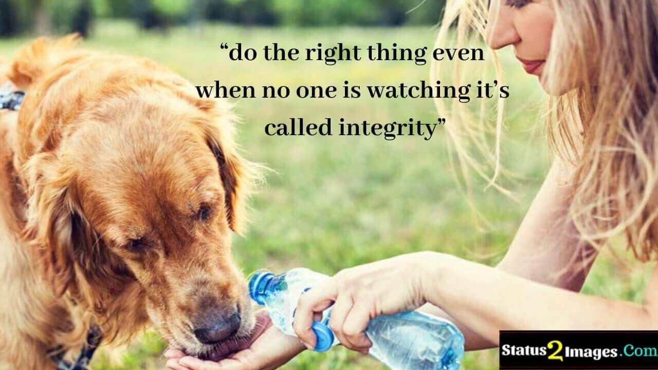 do the right thing even when no one is watching it's called integrity - Life Quotes