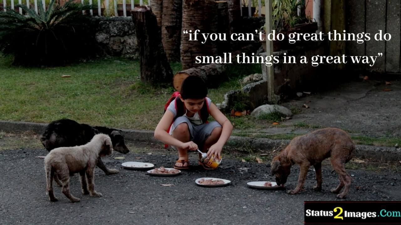 if you can't do great things do small things in a great way - Life Quotes