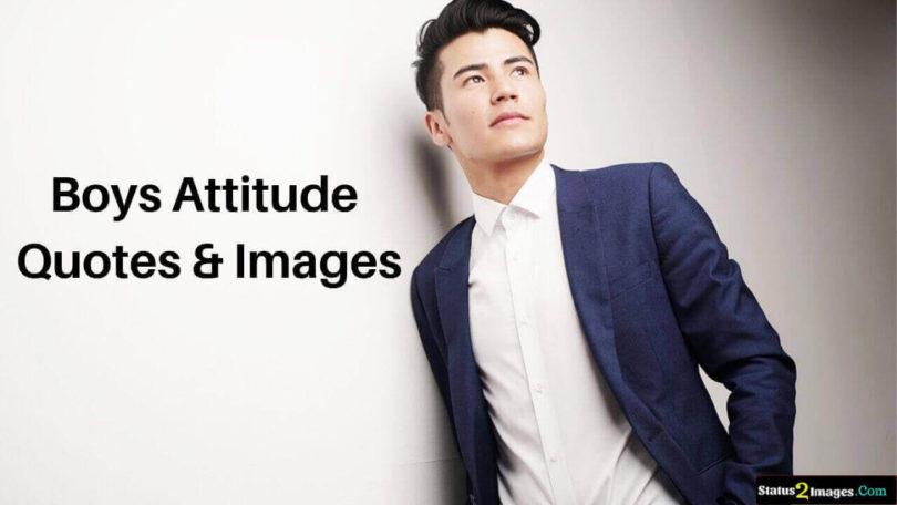 boys man attitude quotes